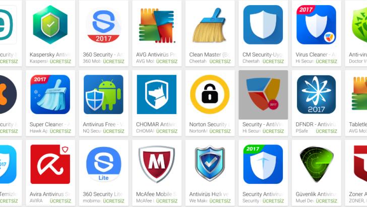 Android için ücretsiz antivirüs uygulamaları