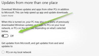 Windows 10 güncellemeleri kotanızı yemesin!