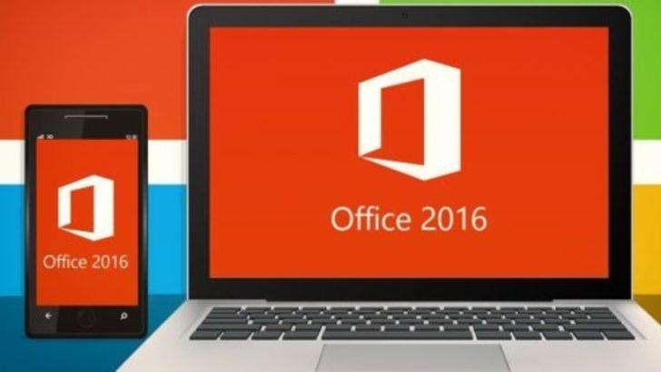 Microsoft Ofis 2016 yayınlandı
