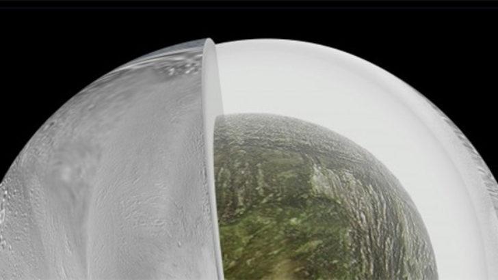Satürn'ün uydusunda yaşam izleri (okyanus bulundu)