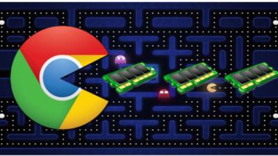 Google Chrome ram tüketimini azaltıyor.