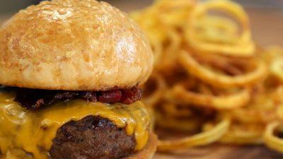 Pastırmalı Hamburger