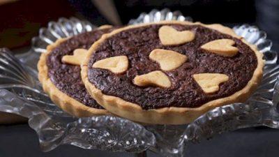 Çikolatalı ve Cevizli Tart Tarifi
