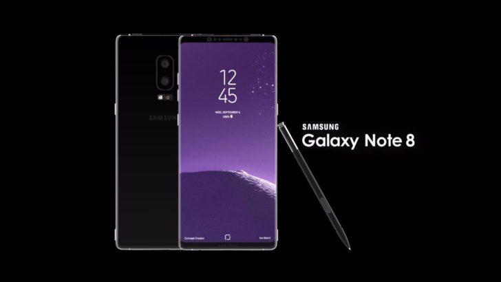 Samsung Galaxy Note 8 Tanıtıldı? Samsung Galaxy Note 8 Satış Fiyatı.
