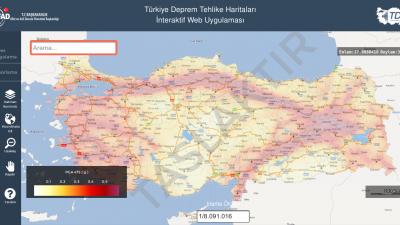 AFAD Deprem haritası sorgulama nasıl yapılır?